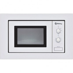 Microondas s/grill 17l Balay 3WMB1918 blanco integrable