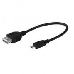 Cable Usb Vivanco Adaptador Micro B Macho