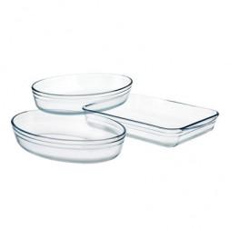 Bandeja Horno K For Kitchen 3 Unid Cristal