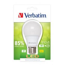 Bombilla Led Verbatim 52601 Classic A E27 9w
