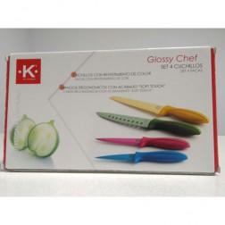 Cuchillo K For Kitchen 4unid
