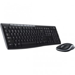 Teclado+raton Logitech  Wireless Combo Mk270