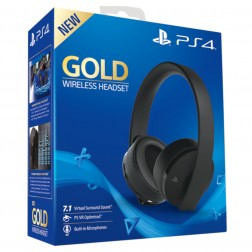 Auricular Ps4 Sony Gold Wireless