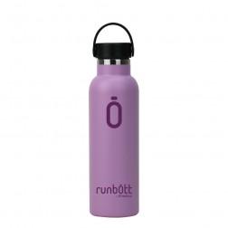 Botella Termo Runbott Sport 600ml Lila