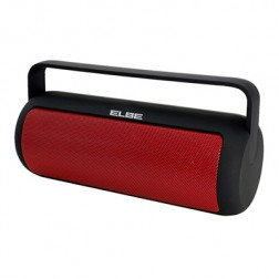 Altavoz Portatil Elbe Alt149nr Bluetooth Negro/Roj