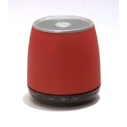 Altavoz Elbe Altmr11bt Mini Bluetooth Rojo