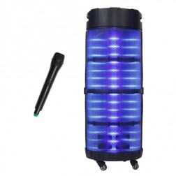 Mini Cadena Portatil Sakkyo Apr1033 Xxl Bateria Recargable 800w Karaoke