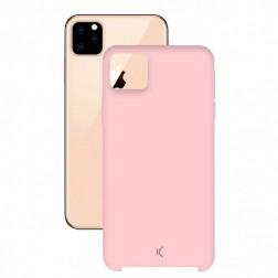 Carcasa Soft Silicona Ksix Iphone 11 Pro Rosa