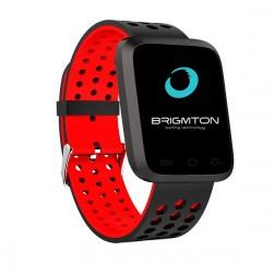 Pulsera Fitness Brigmton Bsport-18-A Bluetooth Multideporte Roja
