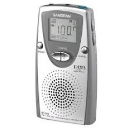 Radio Digital Sangean Dt210 Fm-Am Plata