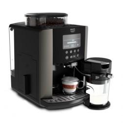 Cafetera Express Krups Ea819e10 Superaut Quattro Force Arabica Latte Gris