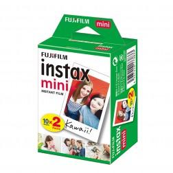 Pack pel·lícula Fujifilm Instax Mini (10 fulles + 10 fulles)
