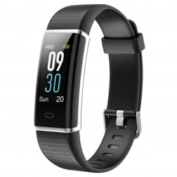 Pulsera Fitness Sunstech Fitlife Hr Negra