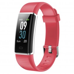 Pulsera Fitness Sunstech Fitlife Hr Roja