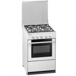 Cocina Gas Meireles G2540vw 4f 53cm Nat Blanca
