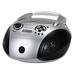 Radio Cd Grundig Rcd1445 Usb Silver/Black (Gdp6300