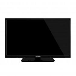 Tv 24 Hyundai Hy24h4021sw Hd Smart Tv Wifi Mode Hotel Negra