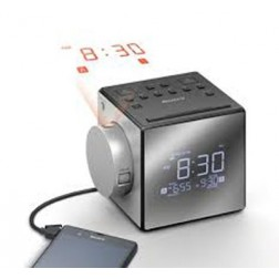 Radio Reloj Sony Icfc1pj.Ced 2 Alarmas - Proyector