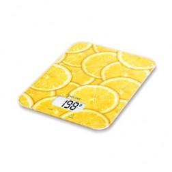 Balanza Cocina Beurer Ks19lemon 5kg Cristal Limon
