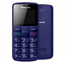 "Movil Panasonic Kx-Tu110exc 1.7"" Tft Color Iconos Grandes Azul"