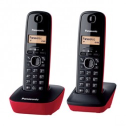 Telefono Inal Panasonic Kx-Tg1612spr Duo Ro