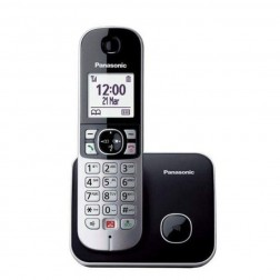 Telefono Inal Panasonic Kx-Tg6851spb Negro Bloqueo Llamadas Automatico