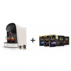 Cafetera Express Philips Lm8012/05 Lor Barista Blanca (Doble Capsula)