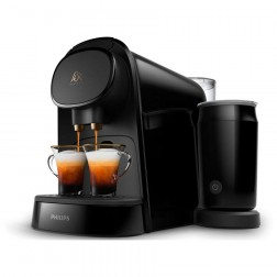 Cafetera Express Philips Lm8014/60 L'Or Barista Latte Negra (Doble Capsula)