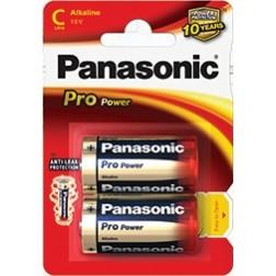 Pila Alcalinas Panasonic  1.5v  Lr14pp/2bp ( 2-Bli