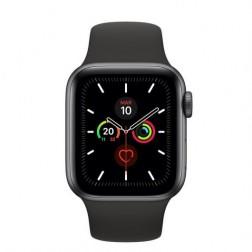 Apple Watch Serie 5 Gps 44mm Space Grey Correa Deportiva Negra