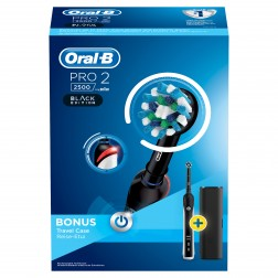 Cepillo Dental Braun Oral-B Pro2500 Action Negro
