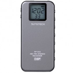 Radio Digital Sunstech Rpd22 Bolsillo Gris