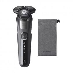 Afeitadora Philips S5587/10 Skiniq W&D Gris Recargable