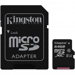 Tarjeta Micro Sd 64gb Kingston Sdcs64gb