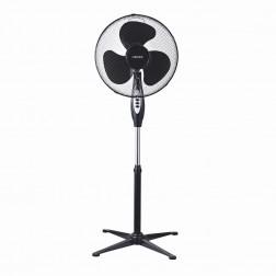 Ventilador Pie Haeger Sf16b010a Cross Wind 40cm 45w Negro