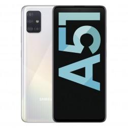 """Movil Samsung Galaxy A51 6.5"""" 4gb 128gb 4 Camaras Blanco"""