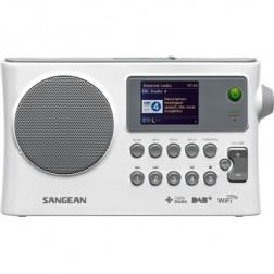Radio Digital Sangean Wfr28c Portatil Dab - Wifi - Usb - Drm