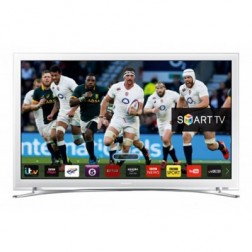 Tv 32 Samsung Ue32j4510 Hd Ready Blanco Wifi Integ